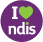 I heart NDIS icon
